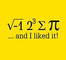 I ate some pi ... by Garaga