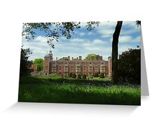 Blickling in spring Greeting Card