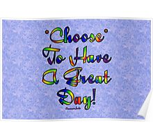 Choose to be Happy ☺ Poster