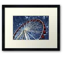 Sky wheel Framed Print