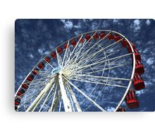 Sky wheel Canvas Print