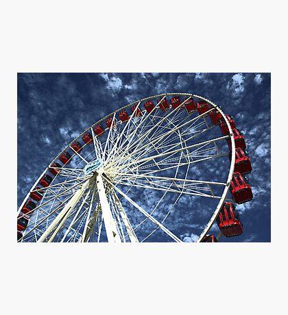 Sky wheel Photographic Print