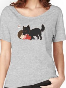 Alpha Kisses Women's Relaxed Fit T-Shirt