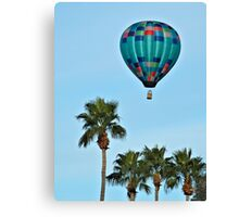 Pretty Blue Balloon Canvas Print