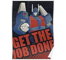 Motivational Magnus Poster