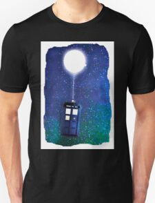 Doctor Who ~  Flying Tardis Unisex T-Shirt