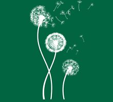 Dandelion Seeds Blowing In The Wind T Shirt Womens Fitted T-Shirt
