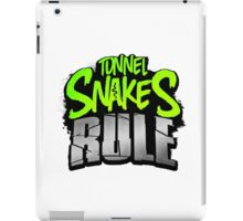 "FALLOUT 3 - ""Tunnel Snakes Rule"" Cool Typography Videogame T-Shirt Design iPad Case/Skin"