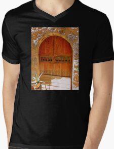 A Sunny Doorway........................Majorca Mens V-Neck T-Shirt