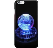 Crystal Ball in Blue iPhone Case/Skin