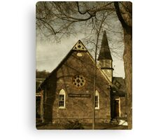 Rosendale Library Canvas Print