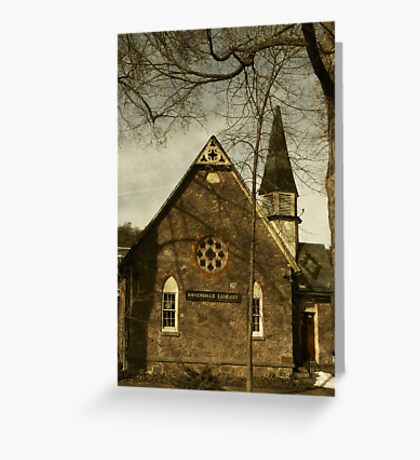 Rosendale Library Greeting Card
