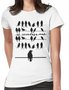 THE BIRDS! Womens Fitted T-Shirt