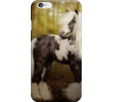Gypsy Gold - Gypsy Vanner horse iPhone Case/Skin