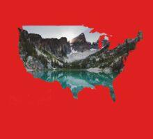 Explore USA Baby Tee