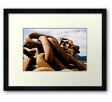Chains of Old Framed Print