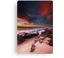 Rolling Red Canvas Print