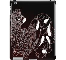 Zen-tangle Ferret iPad Case/Skin