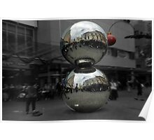 Rundle Mall Balls.. Adelaide Poster