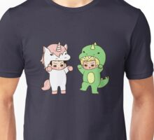 Dinosaurs vs. Unicorns Unisex T-Shirt