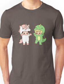 Dinosaurs vs. Unicorns Unisex T-Shirt