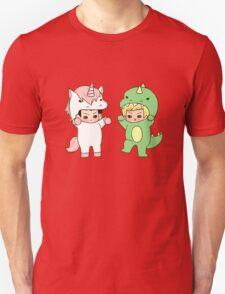 Dinosaurs vs. Unicorns T-Shirt