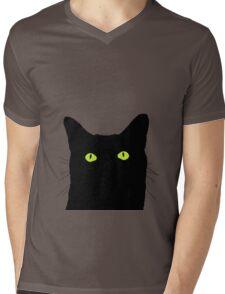 I See Cat Mens V-Neck T-Shirt