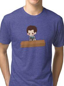 Colin Morgan as Ariel Tri-blend T-Shirt