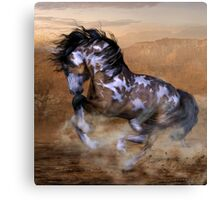 The Wild,The Free Painted Horse Canvas Print