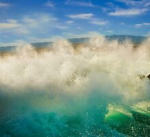 Crashing Wave  by Alex  Bramwell