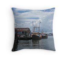 Wanchese Fishing Throw Pillow