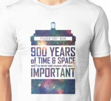900 Years of Time and Space Unisex T-Shirt