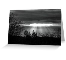 The Last Rays! Greeting Card