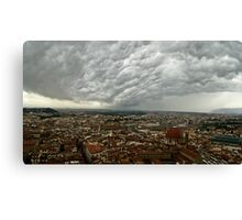 """Storm Over Firenze"" Canvas Print"