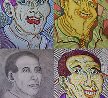 Walt's work x 4 by Woodie