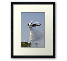 Firebomber Helicopter Framed Print