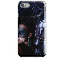 Midnight Ride - Iroquois Native American horse and rider iPhone Case/Skin