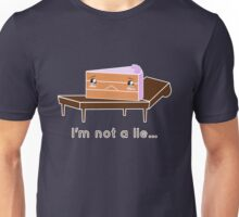The cake is not a lie. Unisex T-Shirt