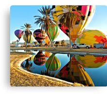 Monday Morning Blow Up Canvas Print