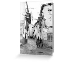 """""""Casas del Monte"""" Greeting Card"""