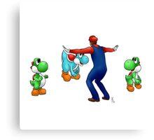 #MarioKeeping Canvas Print