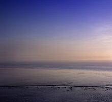 Morning Blue Sky and Beach in Penang, Malaysia by blu370n3