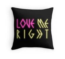 EXO 'Love Me Right' Logo Throw Pillow