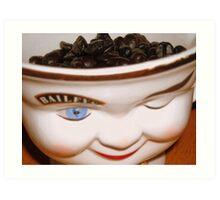 Coffee Bailey's Style Art Print
