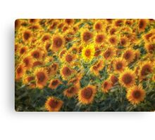 Face in a Crowd Canvas Print