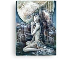 The Sci-fi Beauty Canvas Print