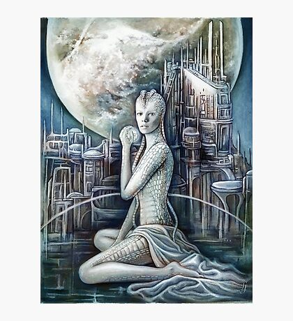 The Sci-fi Beauty Photographic Print