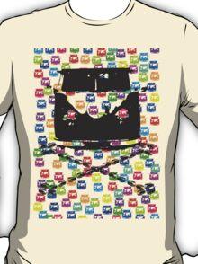 Split and Crossbones (Multi-vans) T-Shirt