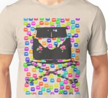 Split and Crossbones (Multi-vans) Unisex T-Shirt