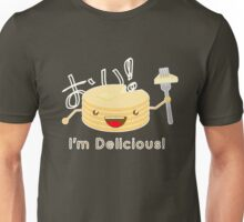 Pancakes are delicious! (brighter colors) Unisex T-Shirt